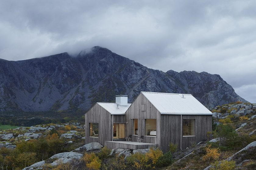 Domek nedaleko polárního kruhu