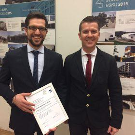 První místo v soutěži o stavební výrobek roku získala společnost Baumit