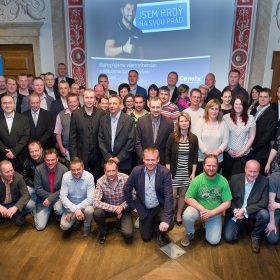Cemix ocenil nejlepší fachmanské realizace za rok 2016