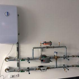 Řídicí systém pro regulaci dodávky tepelné energie FN Ostrava
