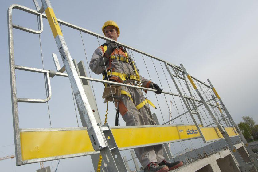 Bezpečně na stavbách. Doka Safety