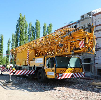 Mobilní stavební jeřáb Liebherr MK 80