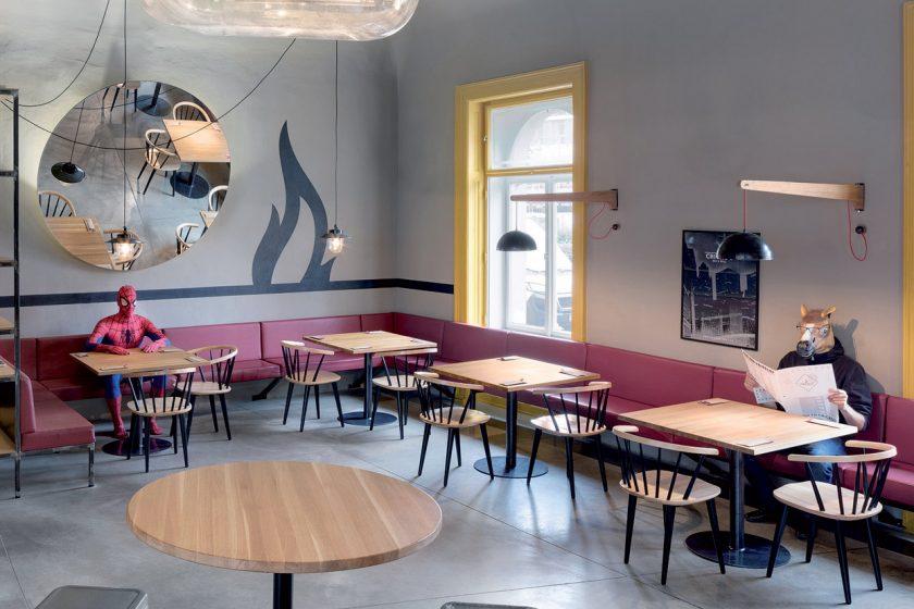 Chicago Grill and Bar: Hamburgery a genius loci