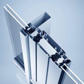 Filigránní ventilační klapka heroal W 72 VF