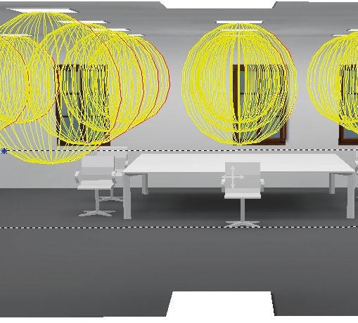 Návrh vnitřních osvětlovacích soustav v budovách a jejich verifikace