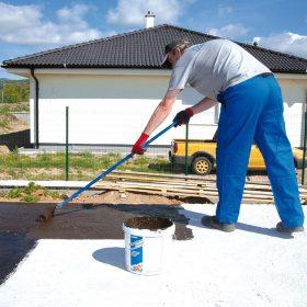 Izolace spodní stavby samolepicí bitumenovou fólií