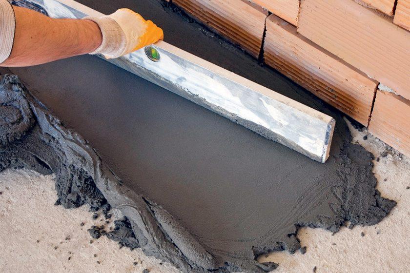 Vyrovnávací malty pro stropy a podlahy