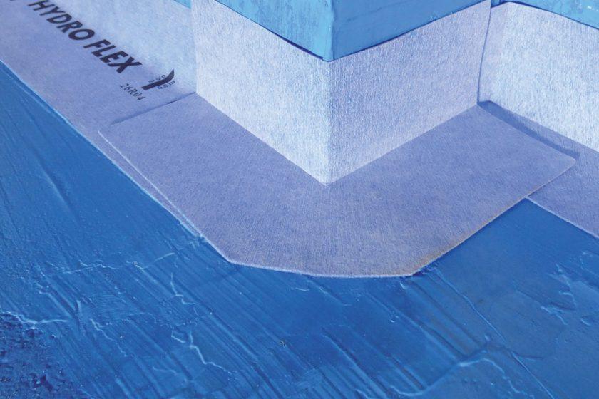 Vytvoření funkčních detailů hydroizolačních vrstev