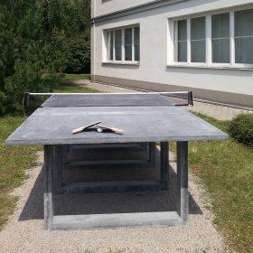 Betonový ping-pongový stůl z vysokohodnotného betonu