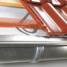 Okapová hrana je zásadním detailem střechy s vlivem na funkčnost