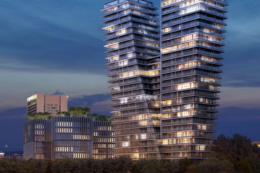 Výjimečná rezidenční budova vybavená speciálními výrobky heroal
