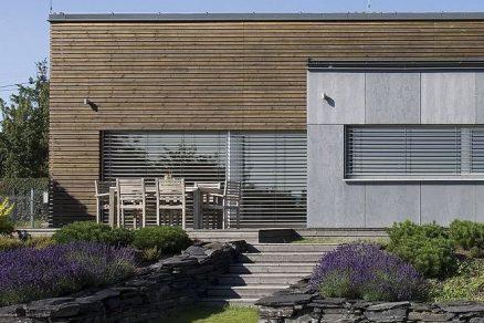Dřevostavba s nízkoenergetickým standardem