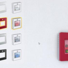 Oblíbený dotykový termostat nyní i v barvě