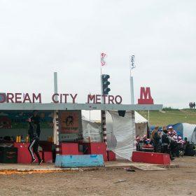 Město snílků na festivalu Roskilde