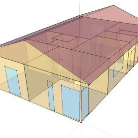 Vliv velikosti transparentních konstrukcí na energetickou hospodárnost