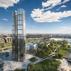 Věž na břehu Dunaje: MOL Campus