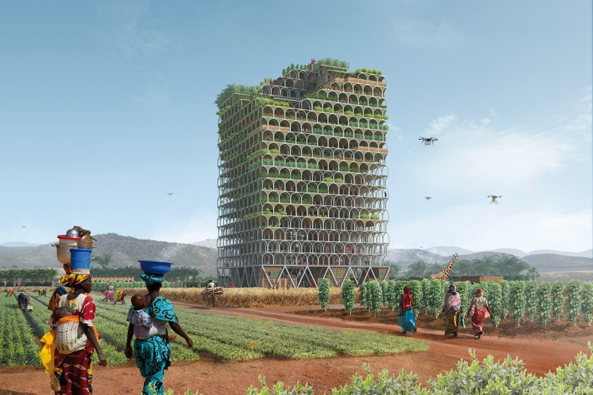 Farmářský mrakodrap