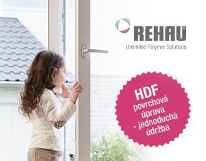 Snadná údržba oken REHAU