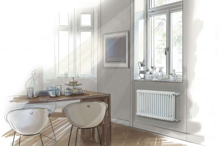 Navrhněte interiér s designovým radiátorem Zehnder Charleston a získejte hlavní cenu v hodnotě 200.000 Kč a další skvělé odměny