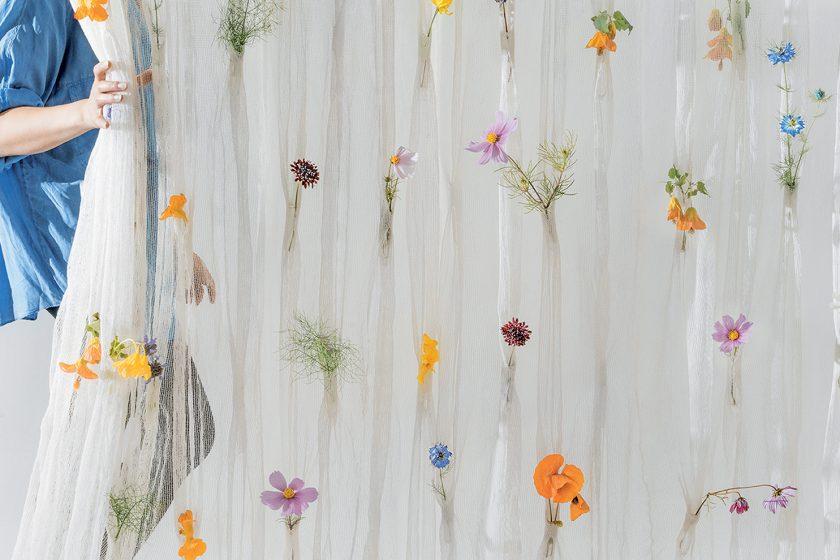 Květiny vkapsách