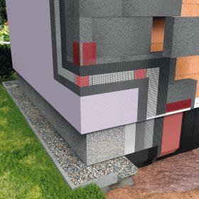 Rozdíl v kotvení ETICS s expandovaným polystyrenem a minerální vatou