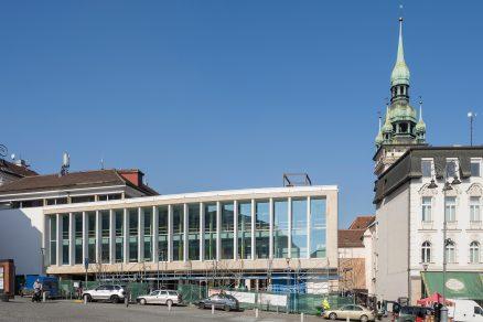 Krytá městská tržnice na Zelném trhu v Brně
