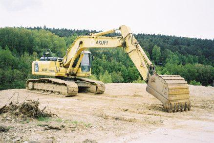 Bezpečné zemní práce ve svahu