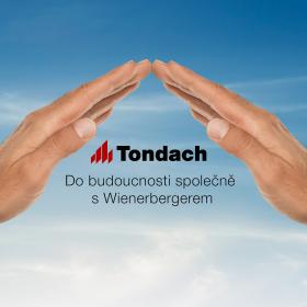 Značka Tondach mění logo a webové stránky