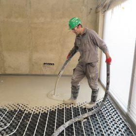 Podlaha z anhydritového potěru
