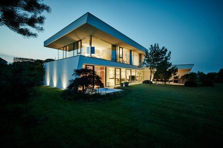 Vila F - dům plný světla