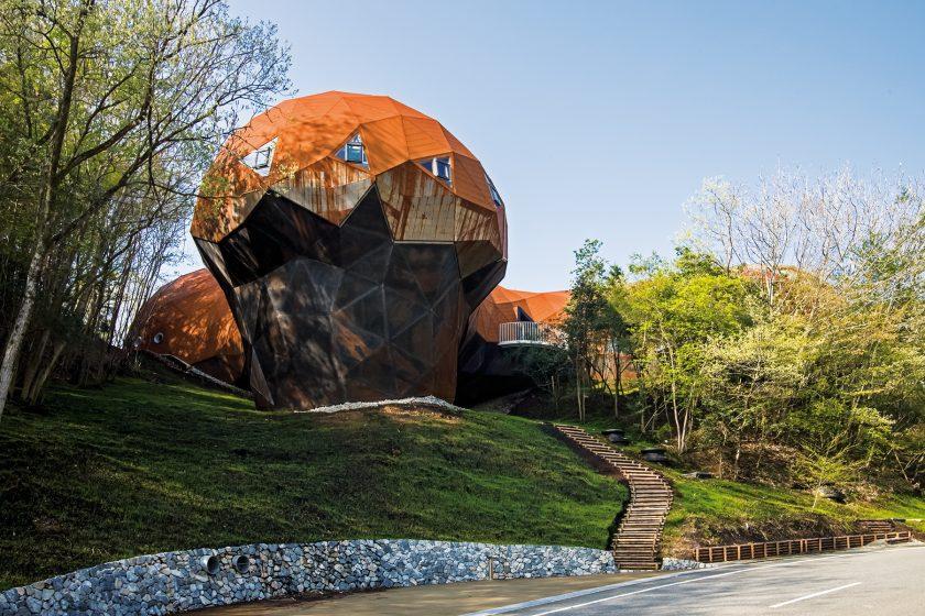 Ekologické vzdělávací centrum Bubbletecture