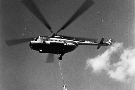 Vrtulníky ve stavebním průmyslu bývalého Československa