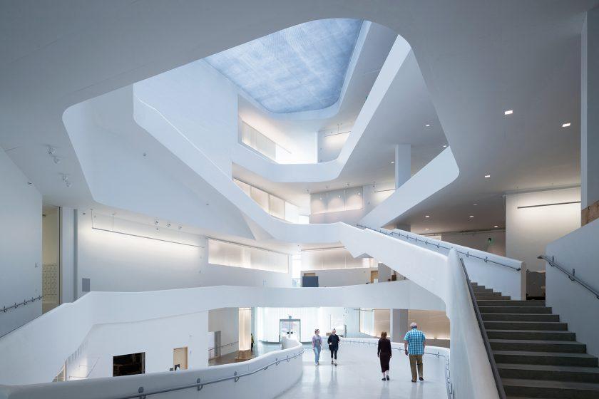 Budova vizuálních umění Iowské univerzity