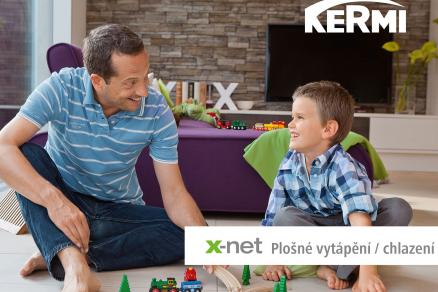 Kermi x-net: systémy plošného vytápění/chlazení pro použití jak při novostavbách, tak i rekonstrukcích