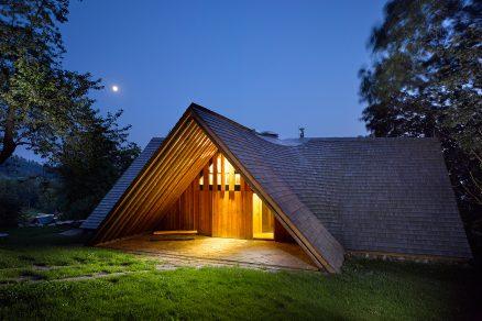 Netradičně tradiční dům