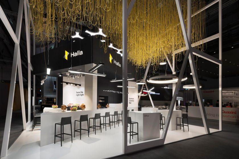 Halla představila na Light + Building nové produkty i logo