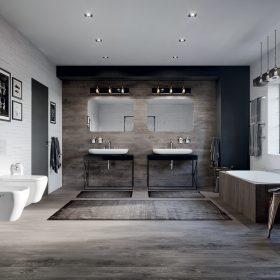 Purismus v koupelně