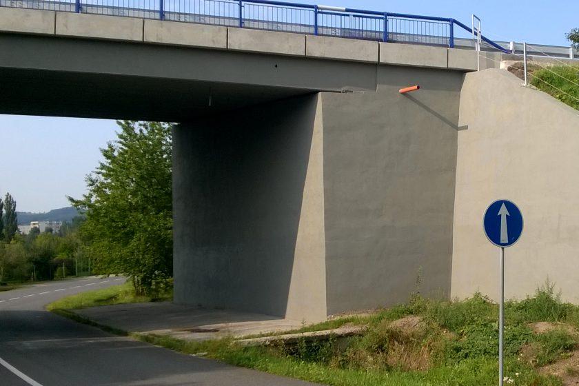 Celková sanace mostu v Otrokovicích