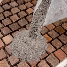 Spárování dlažby z přírodního kamene
