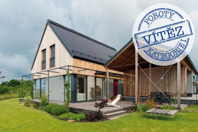 Dům na větrném kopci: Pasivní dům roku 2017