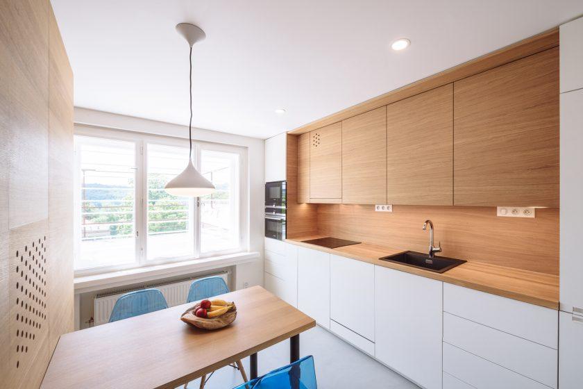 Elegantní rekonstrukce střešní přístavby Haasovy vily