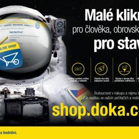 Shop.doka.com přináší nové možnosti v nákupu a nájmu bednicí techniky