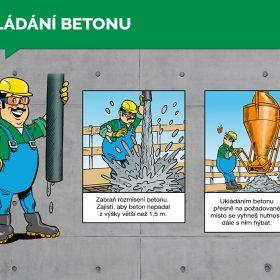NÁVOD NA POUŽITÍ BETONU – Ukládání betonu