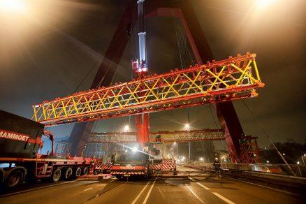 Sanace rotterdamského mostu Willem