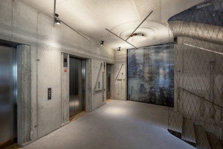 Beton v architektuře: Nároží na Národní