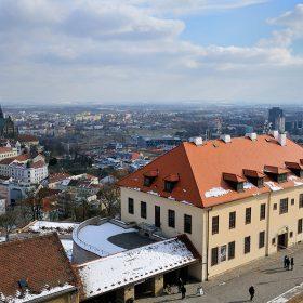 Opál zdobí administrativní budovu hradu Špilberk