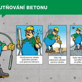 Návod na použití betonu – Zhutňování betonu