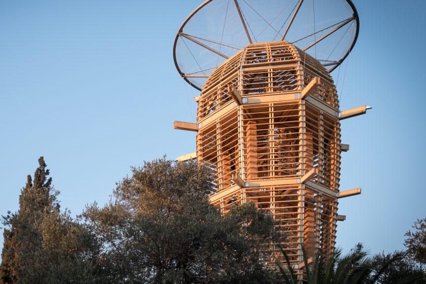 Věž Ester vJeruzalémě