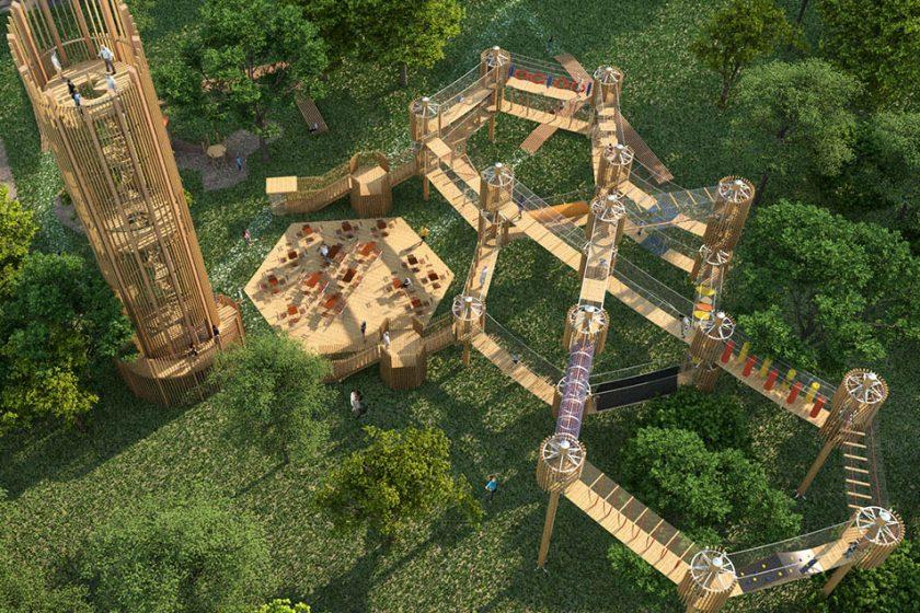Vyhlídková věž na Šibeníku