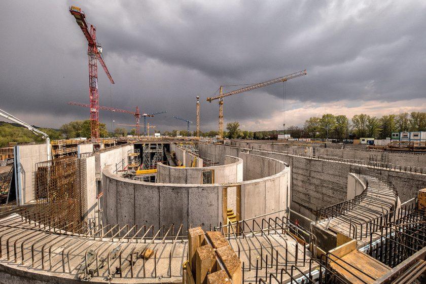 Modernizace ústřední čistírny odpadních vod v Praze